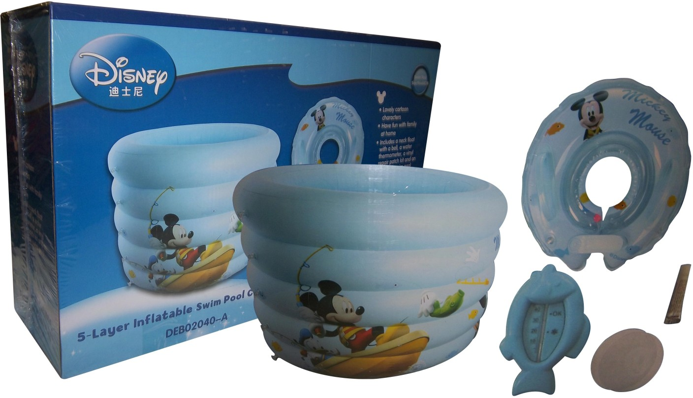 Disney 5 Layer Inflatable Swimming Pool Set 5 Layer Inflatable Swimming Pool Set Buy Mickey
