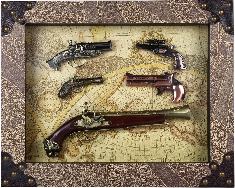 Giftadia Antique Guns Model-3850/3 Showpiece - 60 cm Price in ...