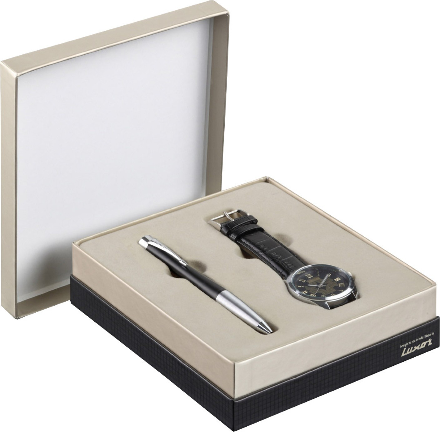 Parker Urban Mutted Black Chrome Trim Ball Pen With Round