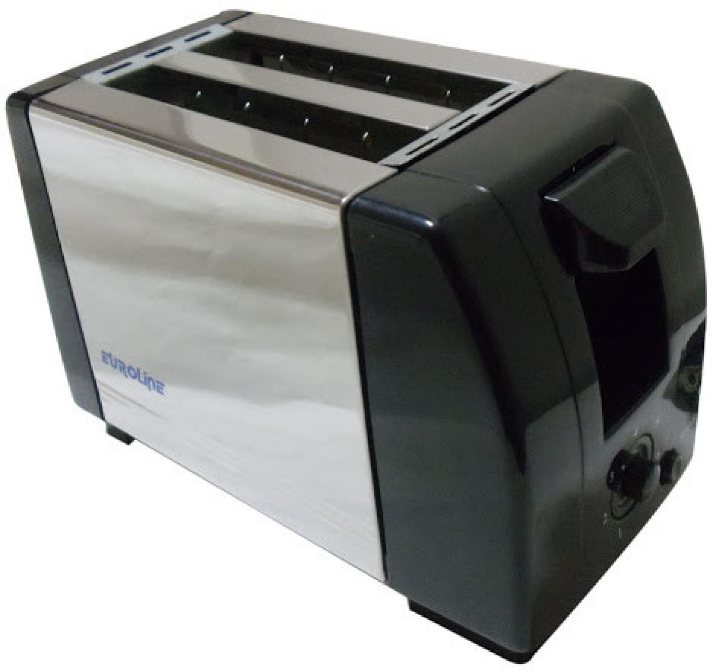 Original Pop Up Toaster ~ Euroline pop up toaster slice ss body w