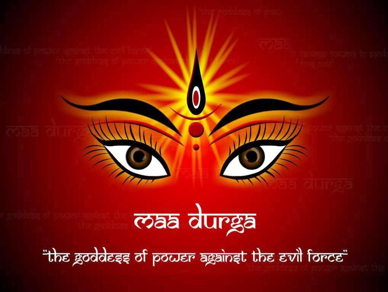 Durga Mata Ji Hd Poster Art Bshi3814 Photographic Paper
