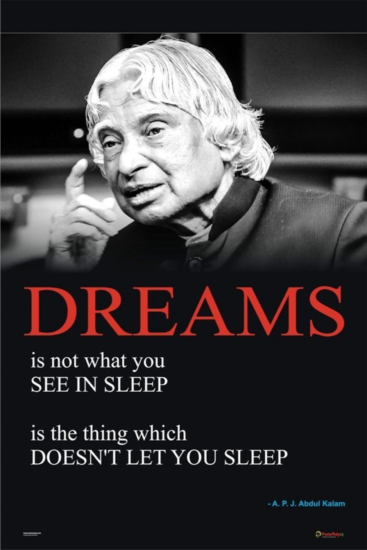Posterindya Apj Abdul Kalam Posters 01 Paper Print Quotes Amp Motivation Posters In India Buy