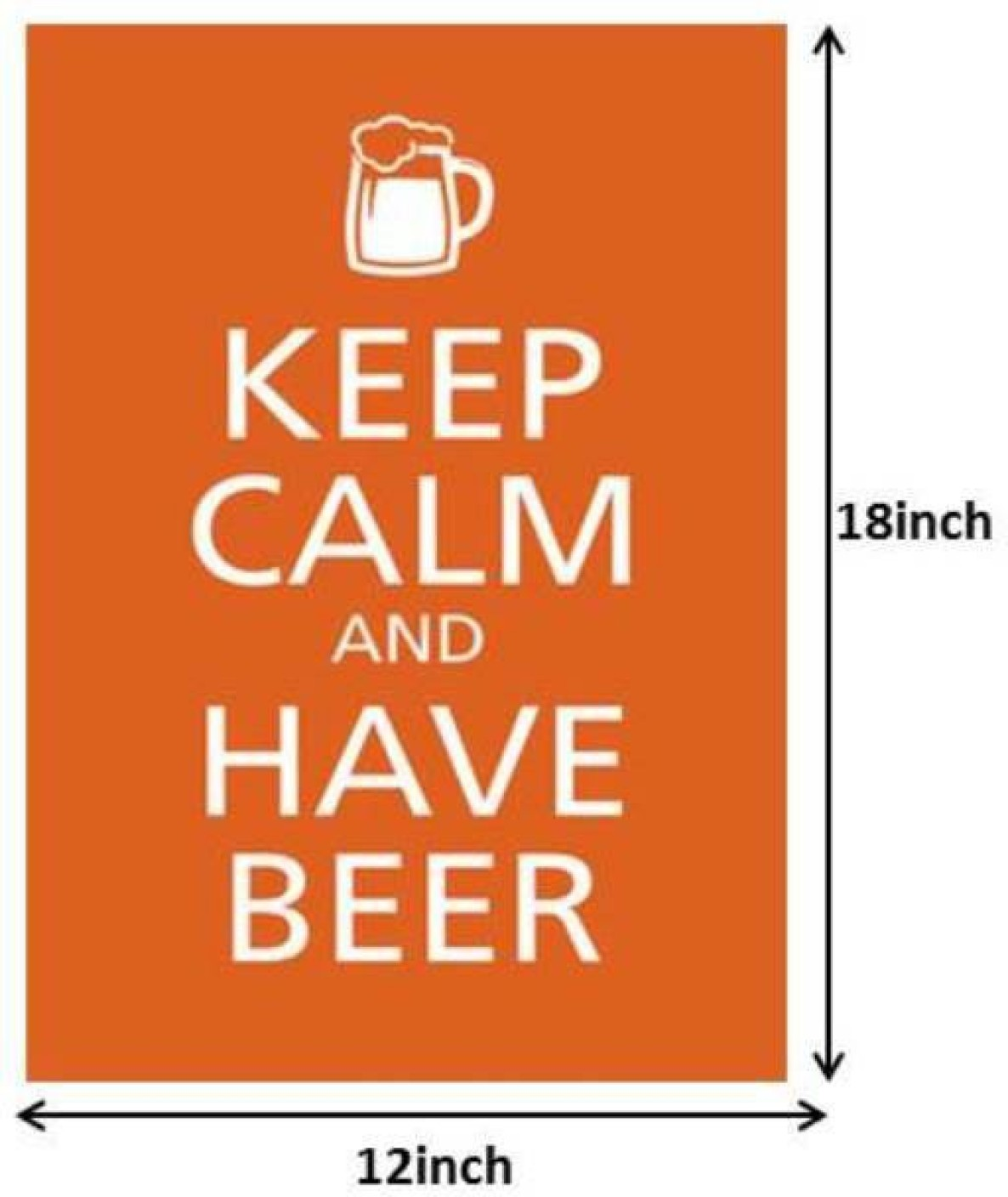 Keep Calm And Have Beer Paper Print