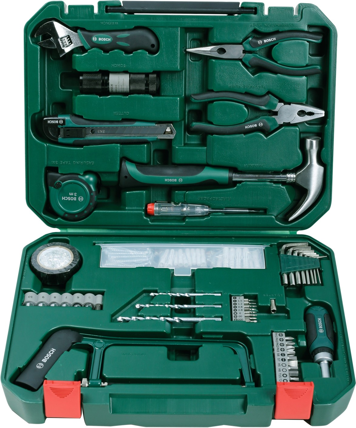 Bosch All-in-One Metal Hand Tool Kit Price in India - Buy ...