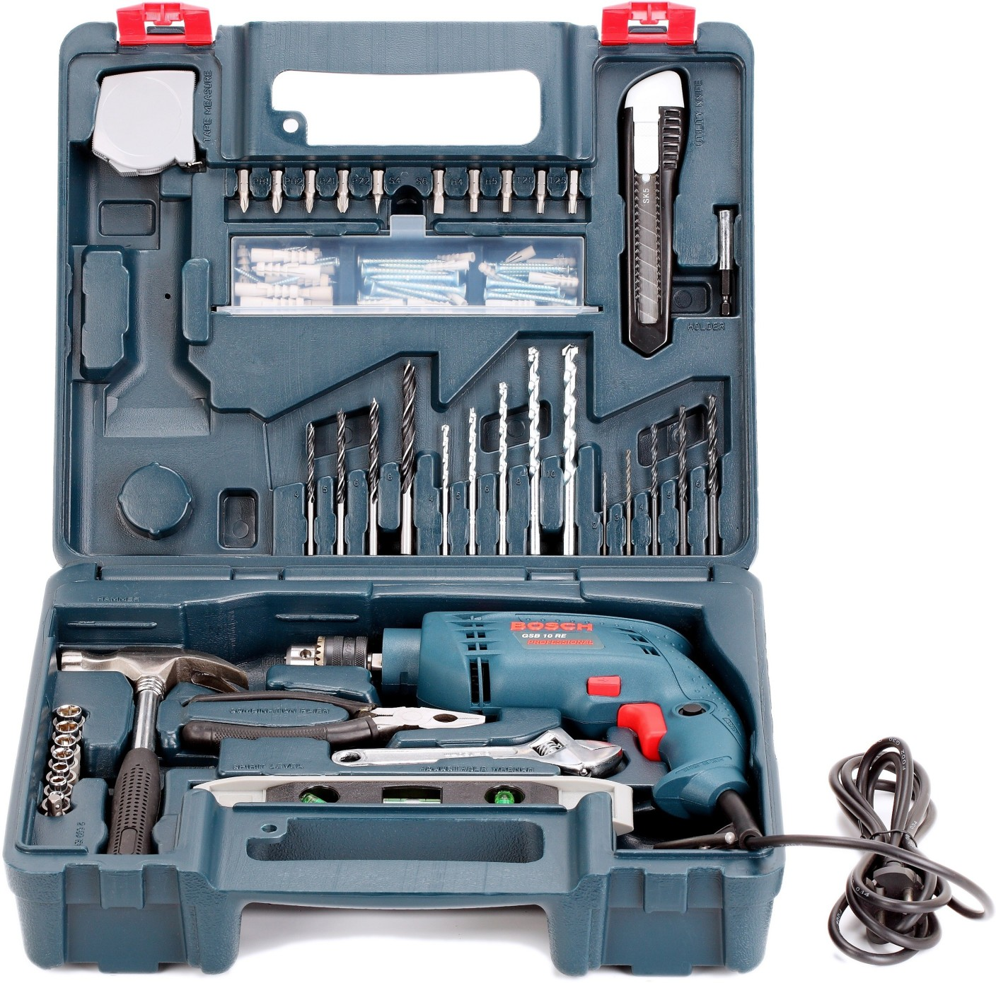 Bosch GSB 10 RE Kit Power & Hand Tool Kit Price in India ...