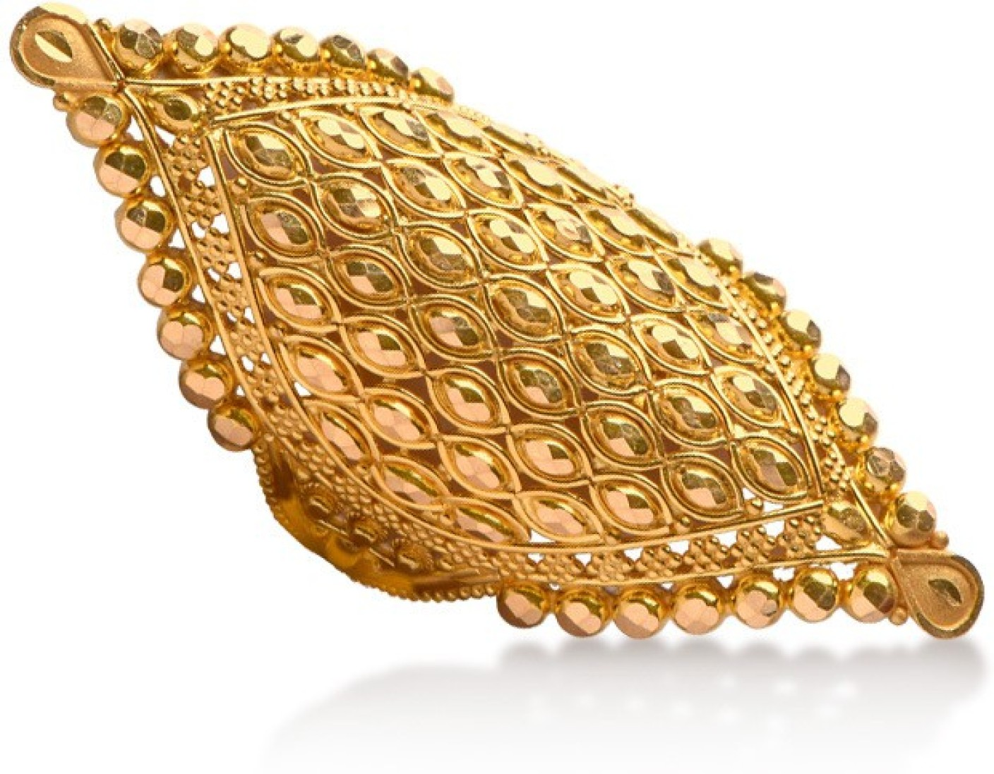 Senco Gold Texture 22kt Yellow Gold ring Price in India - Buy ...