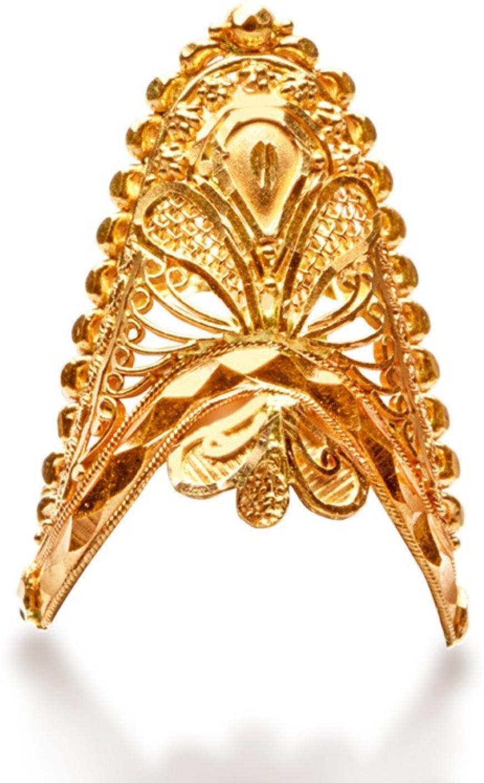 Senco Gold Rani 22kt Yellow Gold ring Price in India - Buy Senco ...
