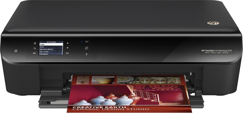 HP Deskjet Ink Advantage 3545 All in One Wireless Printer HP