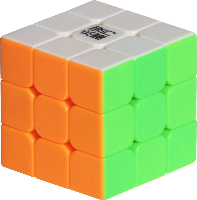 moyu yj 3x3x3 speed rubik cube stickerless yj 3x3x3. Black Bedroom Furniture Sets. Home Design Ideas