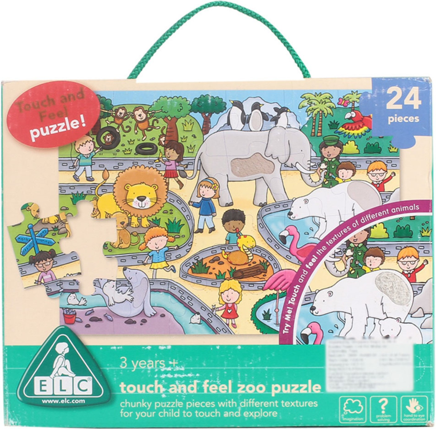 early learning centre touch and feel zoo puzzle touch and feel