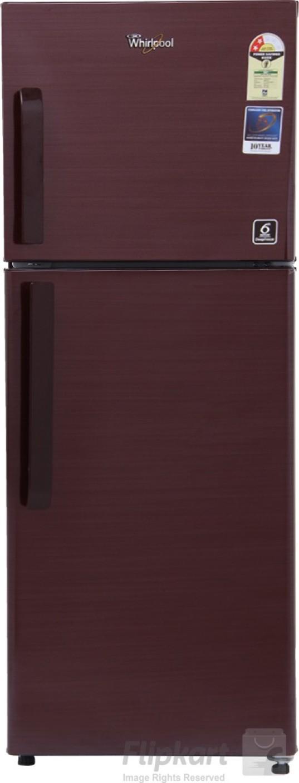 Whirlpool 245 L Frost Free Double Door 2 Star Refrigerator