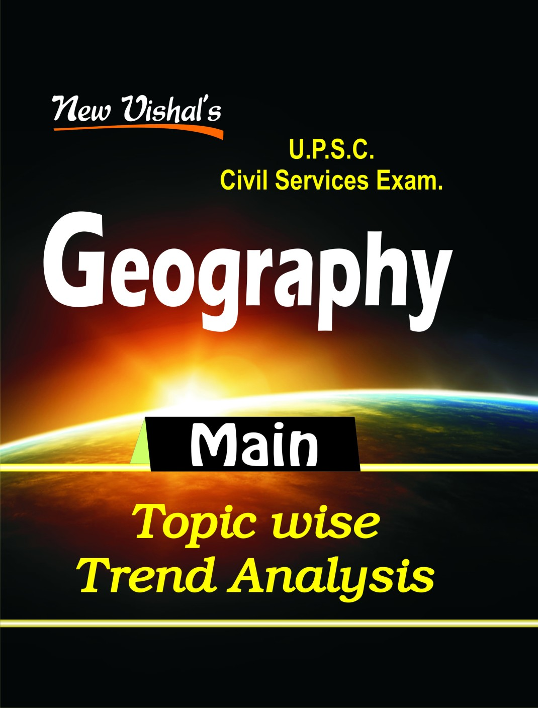 IAS Main Geography Topic Wise Trend Analysis Price in India - Buy ...