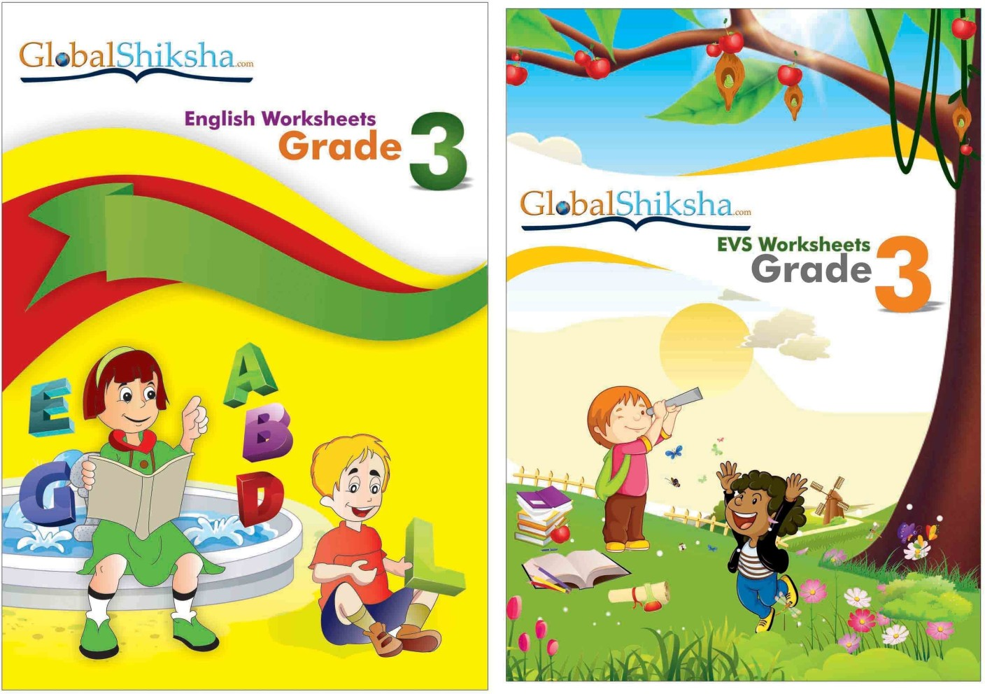 Worksheets For Class 3 - EVS & English. Share