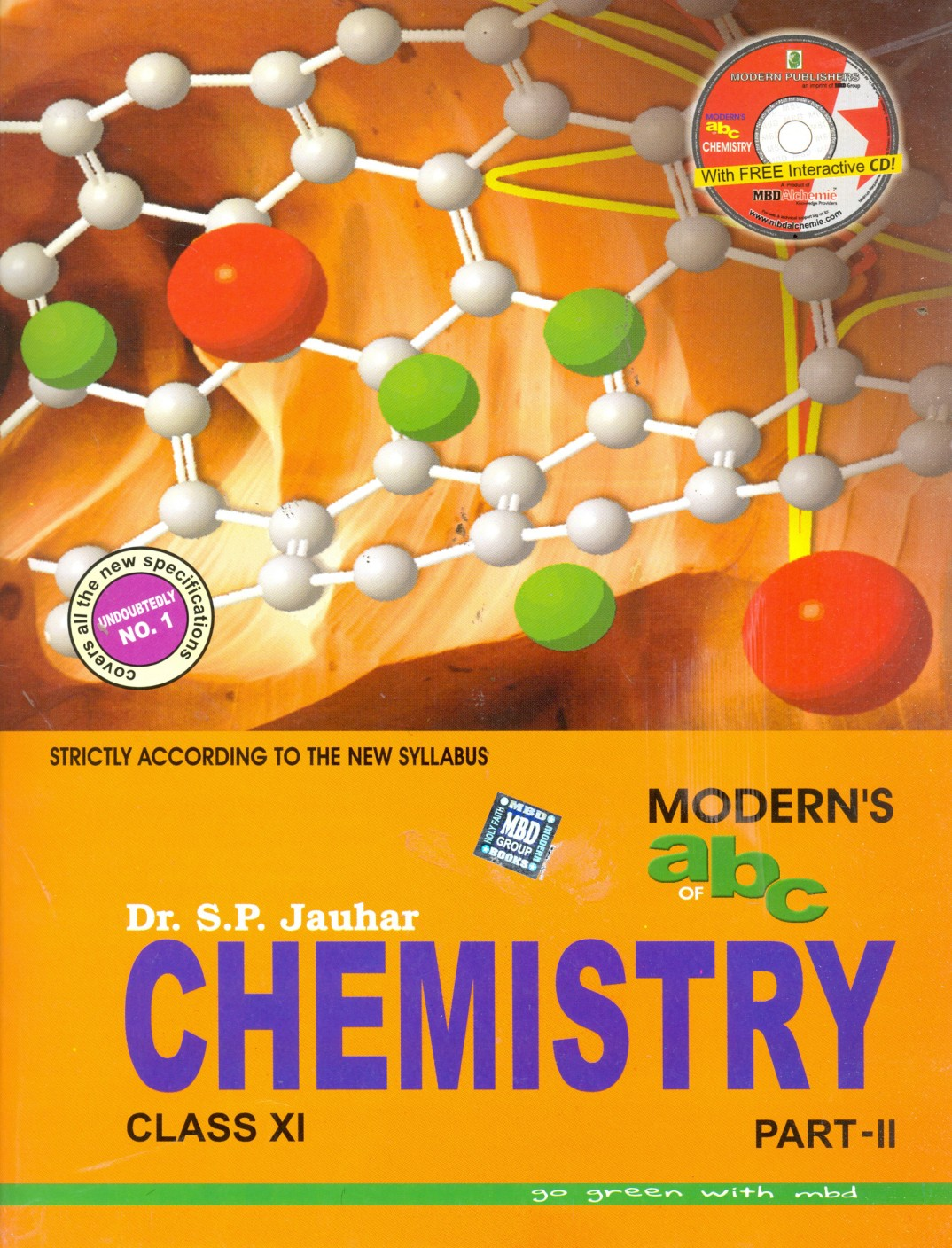 Modern Chemistry Classroom ~ Moderns abc of chemistry for class xi with cd set