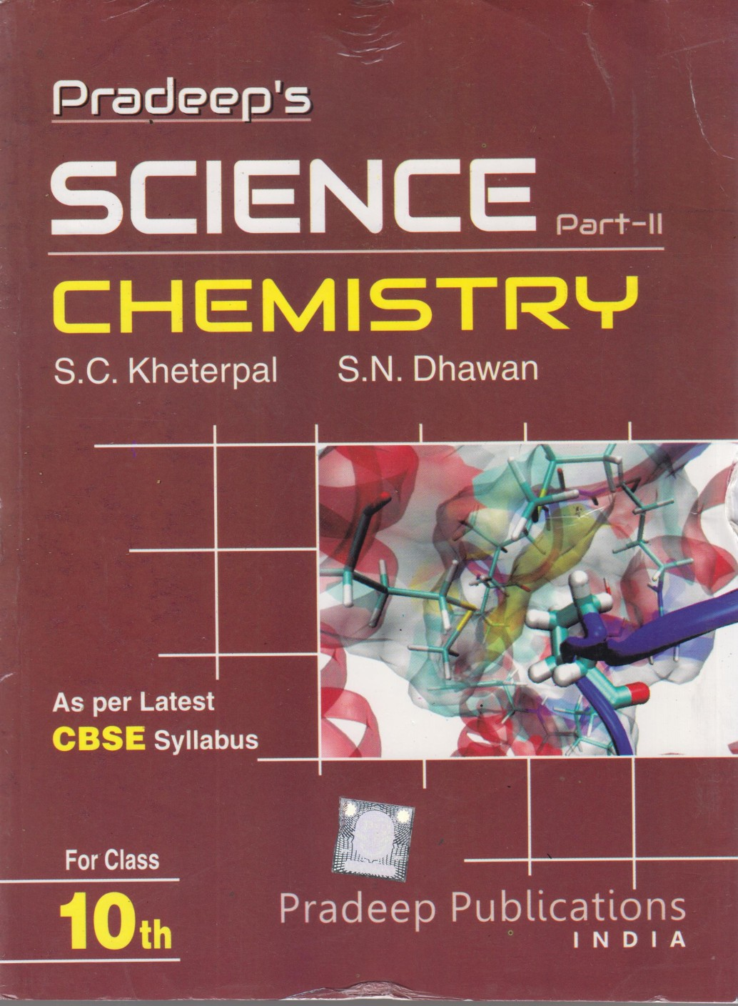 Pradeep s science chemistry for class x part ii add to cart