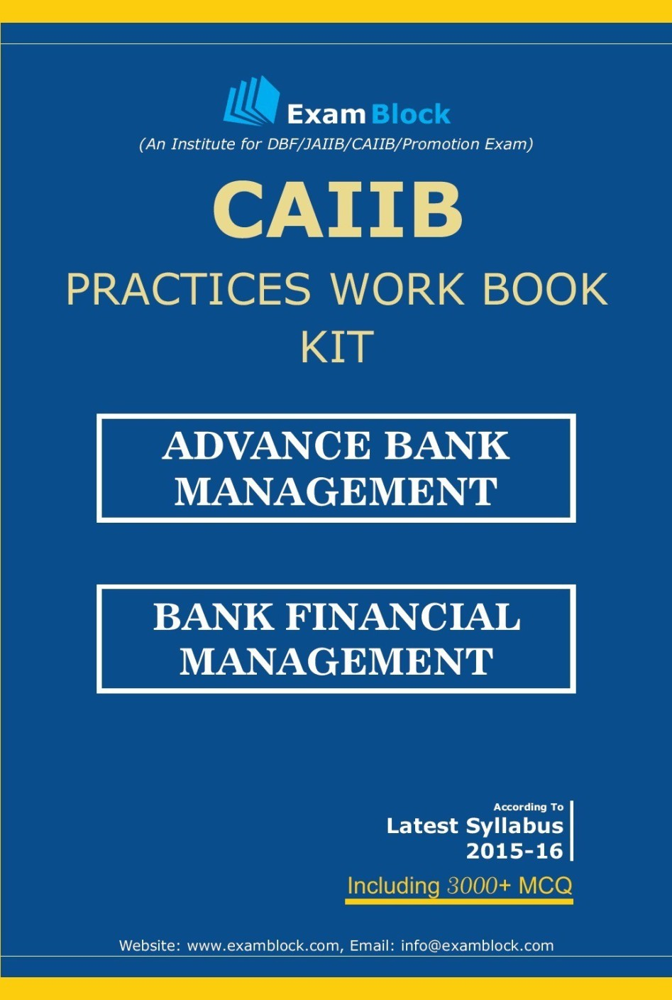 Workbooks jaiib workbook : CAIIB Practices Work Book Kit - Hardcopy Price in India - Buy ...