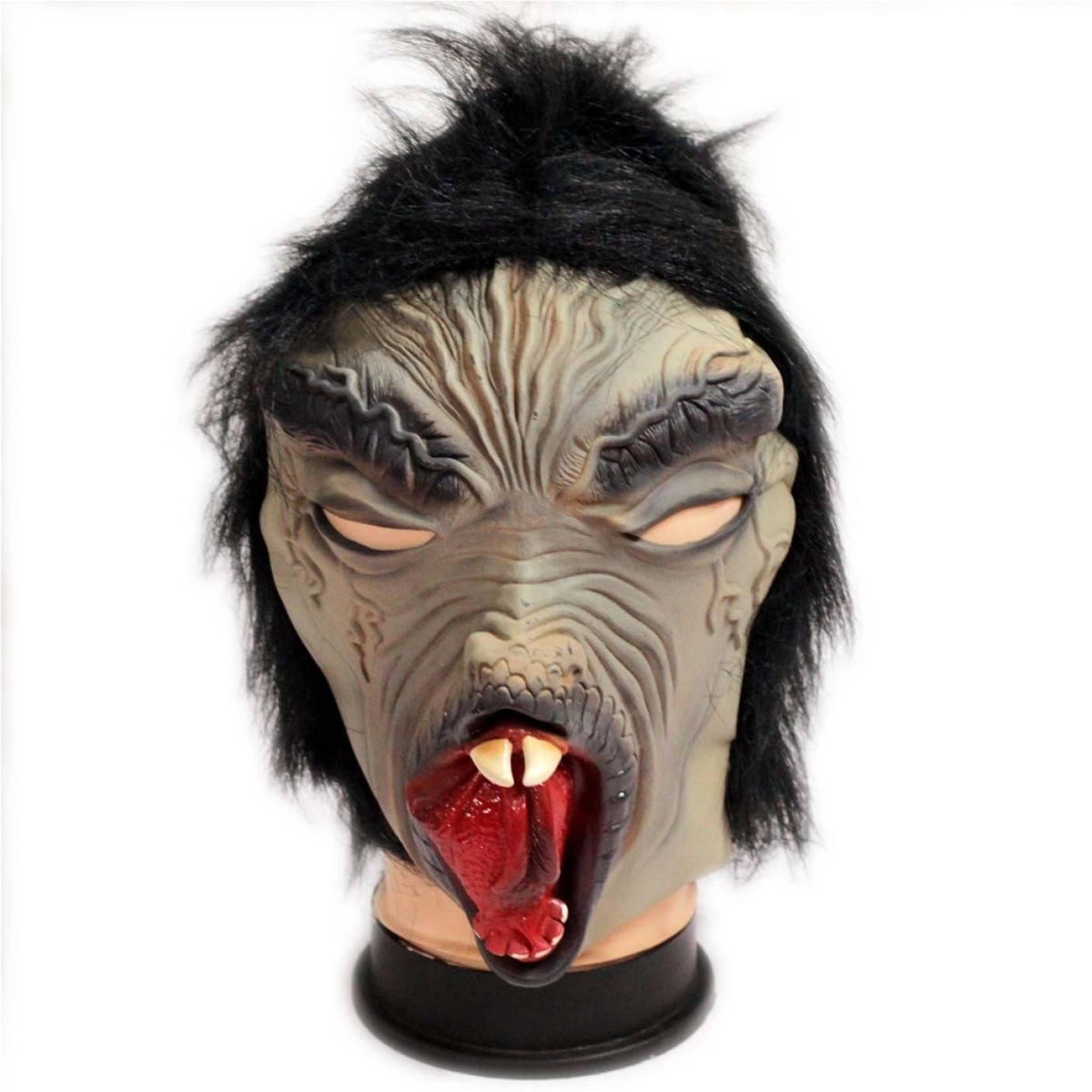 Tootpado Creepy Halloween Costume Theater Novelty Latex Rubber ...