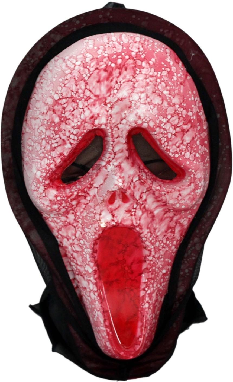 Tootpado Red Scary Movie Scream Halloween Mask (Pack of 2 Masks ...