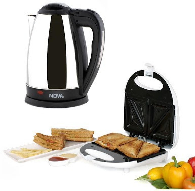 Nova breakfast delite combo kit set of 2 toast price in for Kitchen set on flipkart