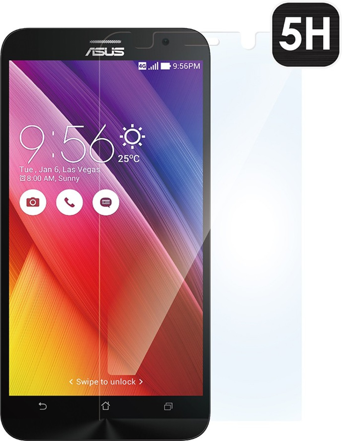 asus screen guard for asus zenfone 2 ze550m 551ml asus. Black Bedroom Furniture Sets. Home Design Ideas