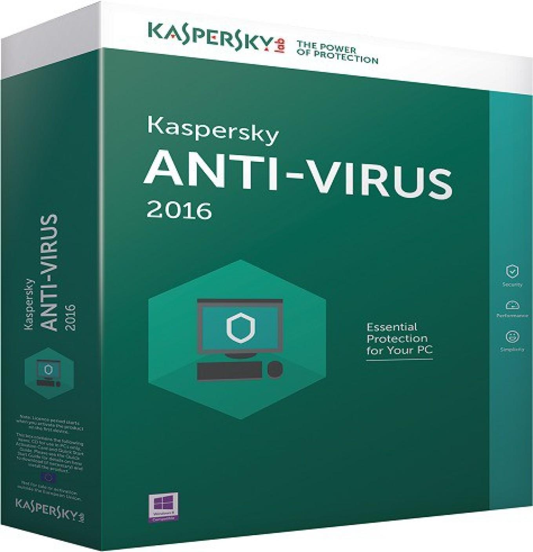 KASPERSKY Anti-virus 2 PC 1 Year- 2016 - Buy KASPERSKY Anti-virus 2 PC 1 Year- 2016 Online at ...