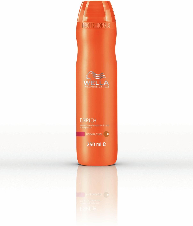 wella professionals enrich moisturizing shampoo for dry. Black Bedroom Furniture Sets. Home Design Ideas