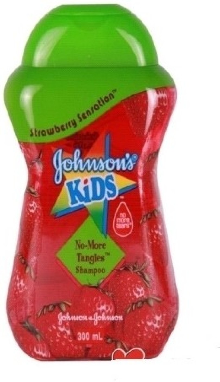 Strawberry Kitchen Curtains Johnsons Baby Kid Strawberry Sensation No More Tangles Shampoo