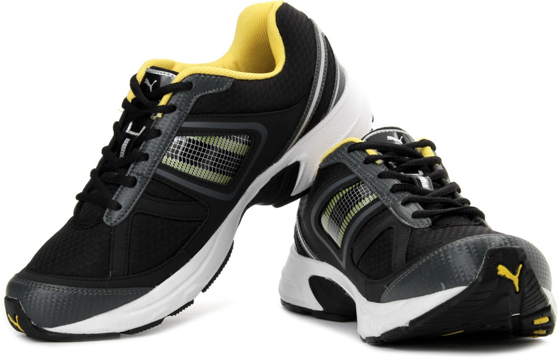 Puma Black Dp Running Shoes