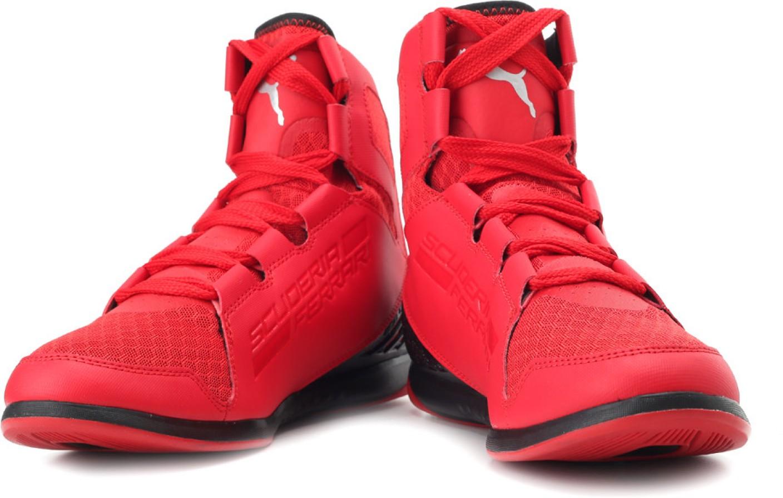 dc20495517e ... rosso corsa black 6.5 m us running fb9e1 6fdff  where can i buy ferrari  puma valorosso mid sf webcage mid ankle sneakers. 36168 44529
