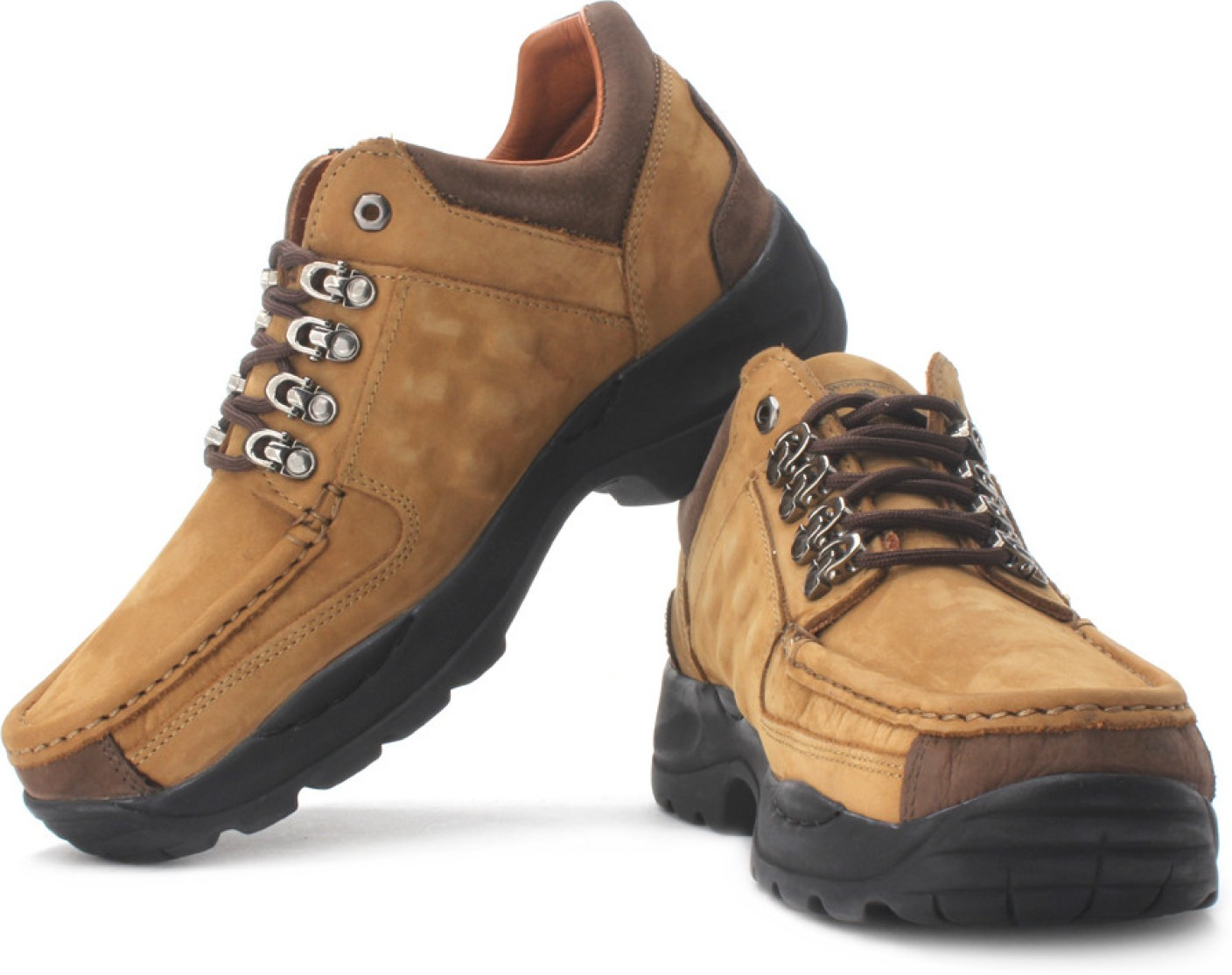 Woodland Outdoors Shoes For Men - Buy Camel Color Woodland ...