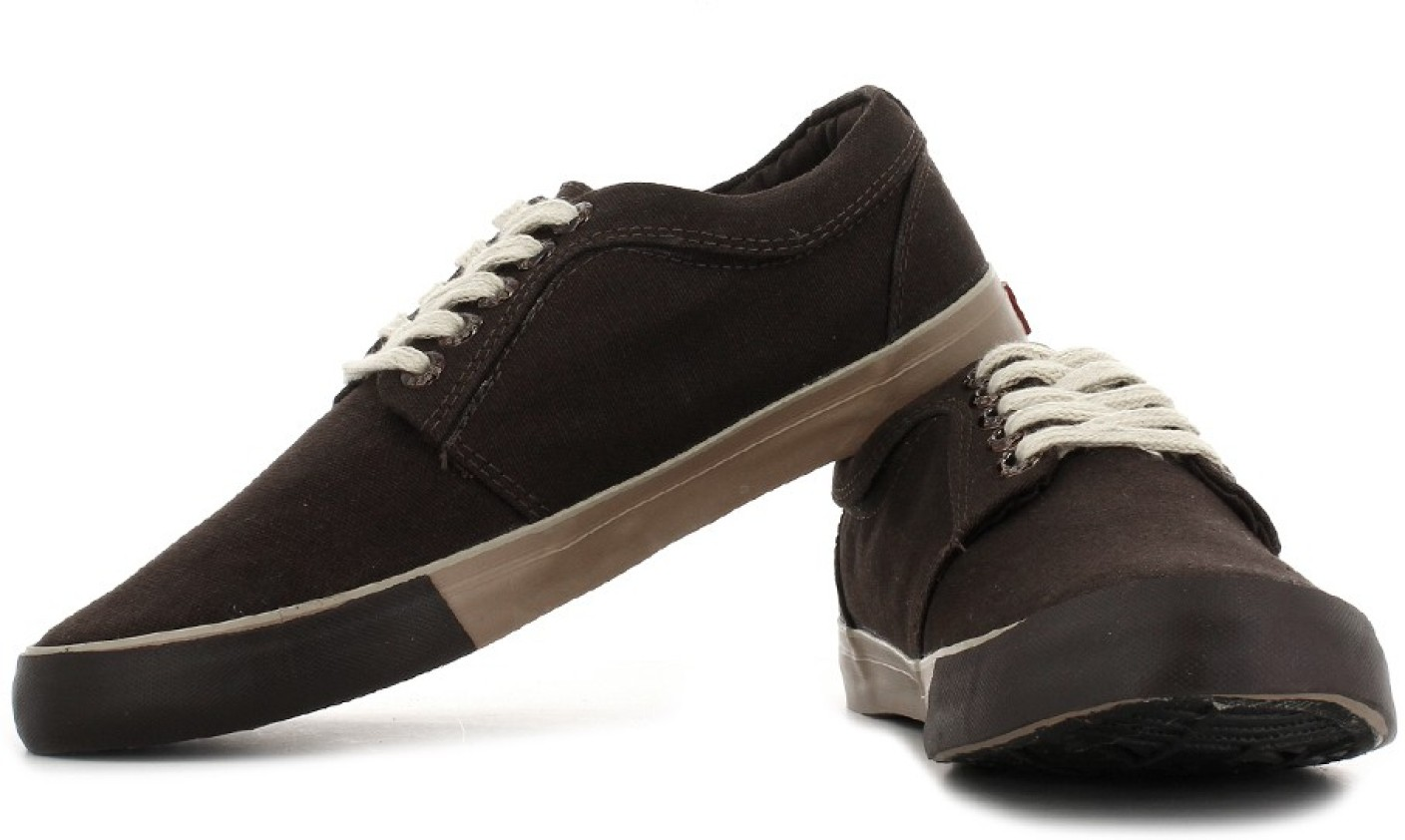 Sparx Canvas Sneakers For Men - Buy Dark Brown Color Sparx ... Canvas Shoes For Men Price