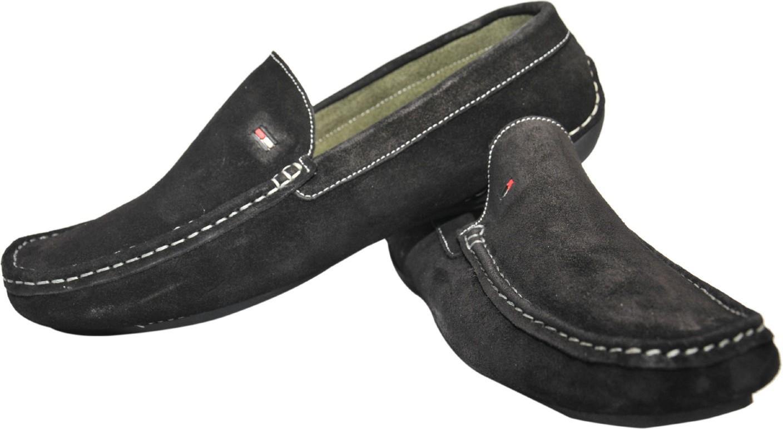 Tommy Hilfiger Tf 01 Loafers For Men Buy Black Color