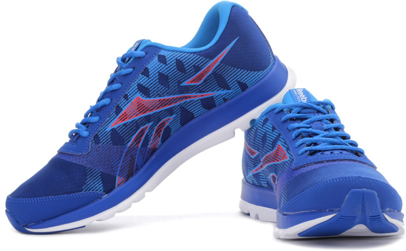 reebok sublite duo chase running shoes for men buy blue