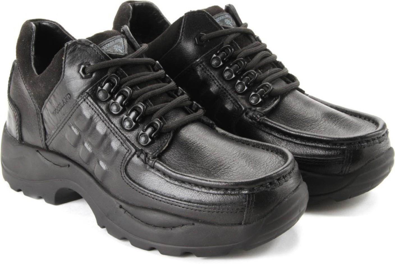 Woodland Men Outdoor Shoes For Men - Buy BLACK Color ...
