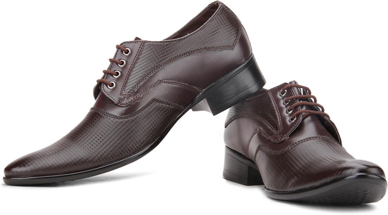 Provogue Lace Up Shoes Brown