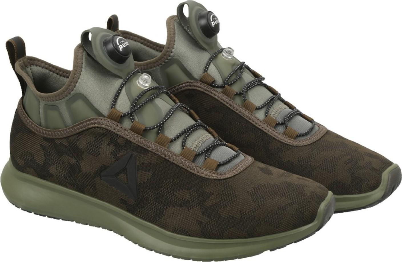 Reebok Men S Pump Plus Camo Running Shoe