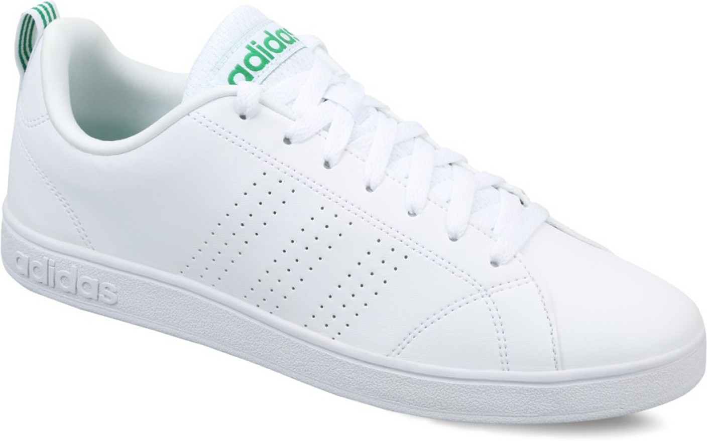 ADIDAS NEO ADVANTAGE CLEAN VS Sneakers For Men - Buy FTWWHT/FTWWHT/GREEN Color ADIDAS NEO ...
