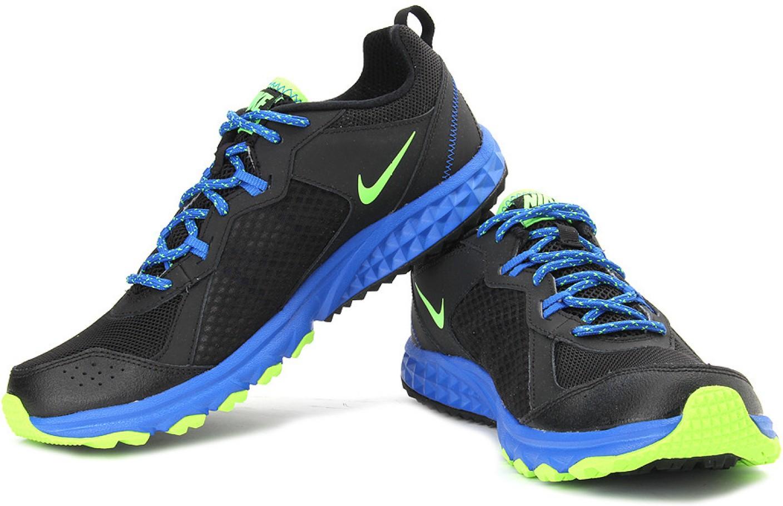 Wild Trail Black Running Shoes