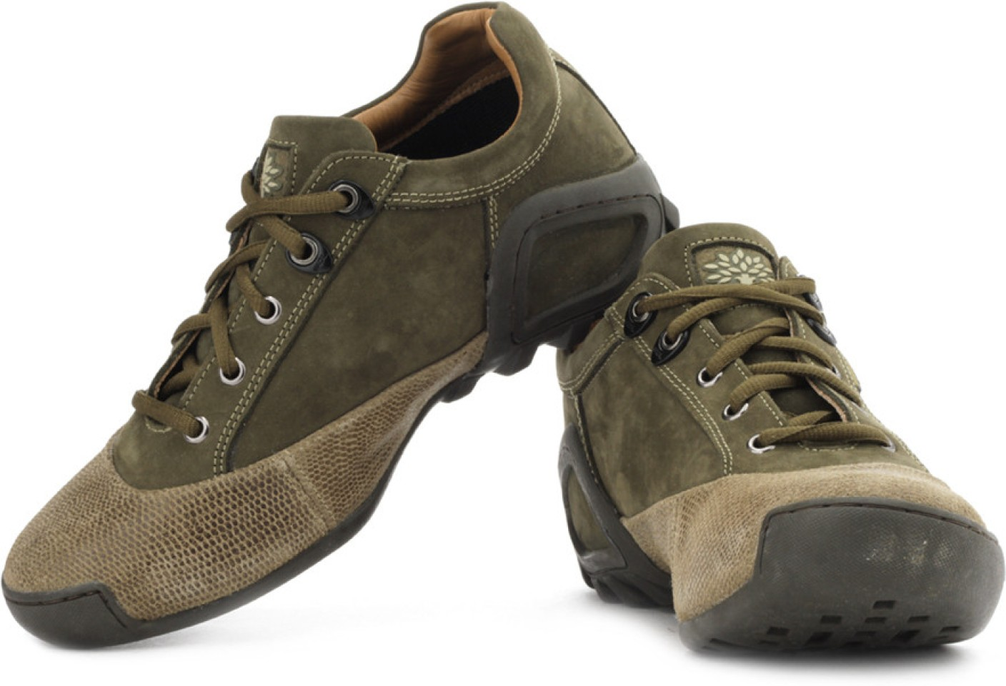 Woodland Outdoors Shoes For Men - Buy Green Color Woodland ...