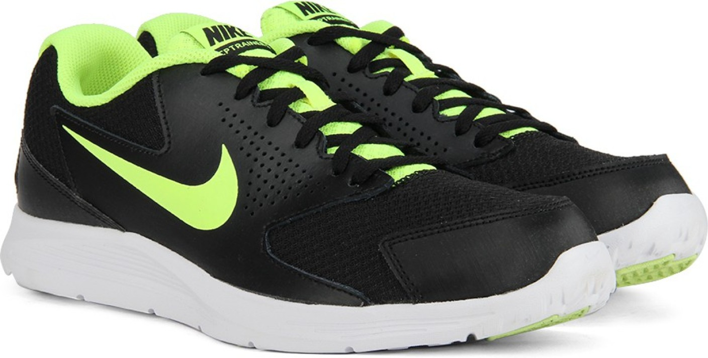 Cp Trainer  Black Training Shoes