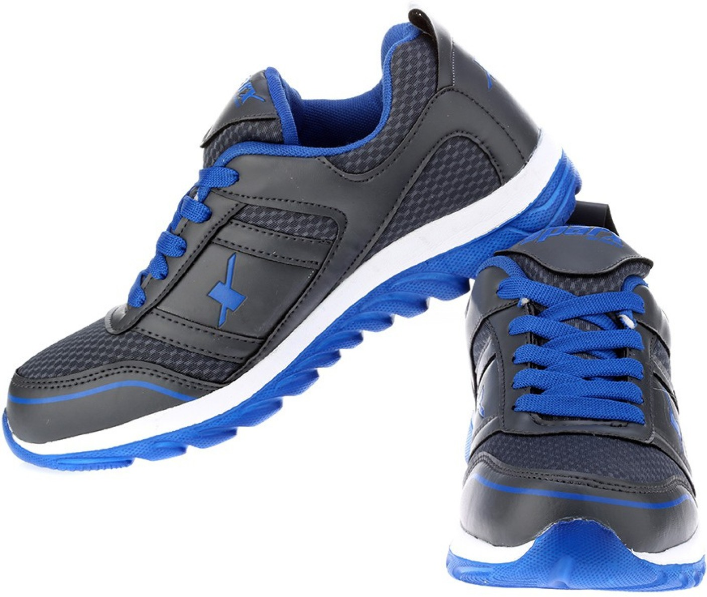 Sparx Trendy Black Running Shoes