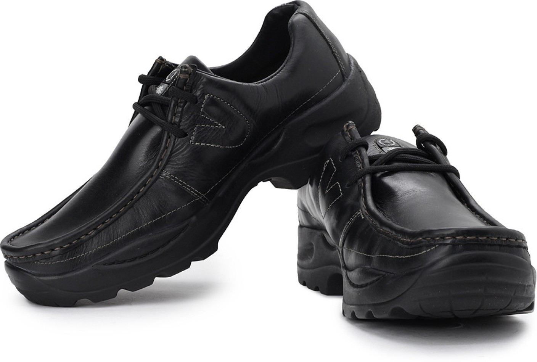 Woodland Outdoors Shoes For Men - Buy Black Color Woodland ...