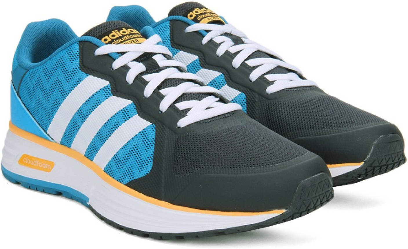 ... sale harga adidas neo comfort footbed . adidas neo cloudfoam flyer  sneakers for men buy ntgrey c86ca001cd