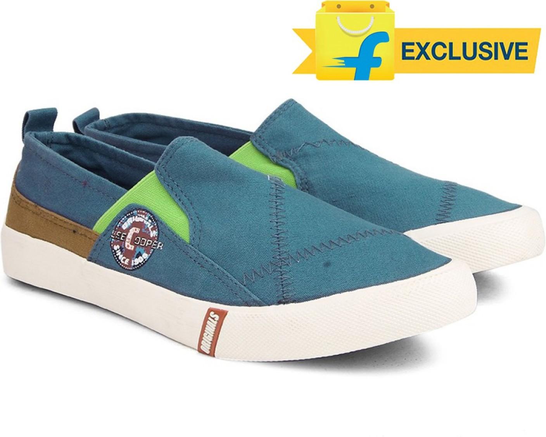 Lee Cooper Men Loafers For Men - Buy LT.NAVY/LIME Color