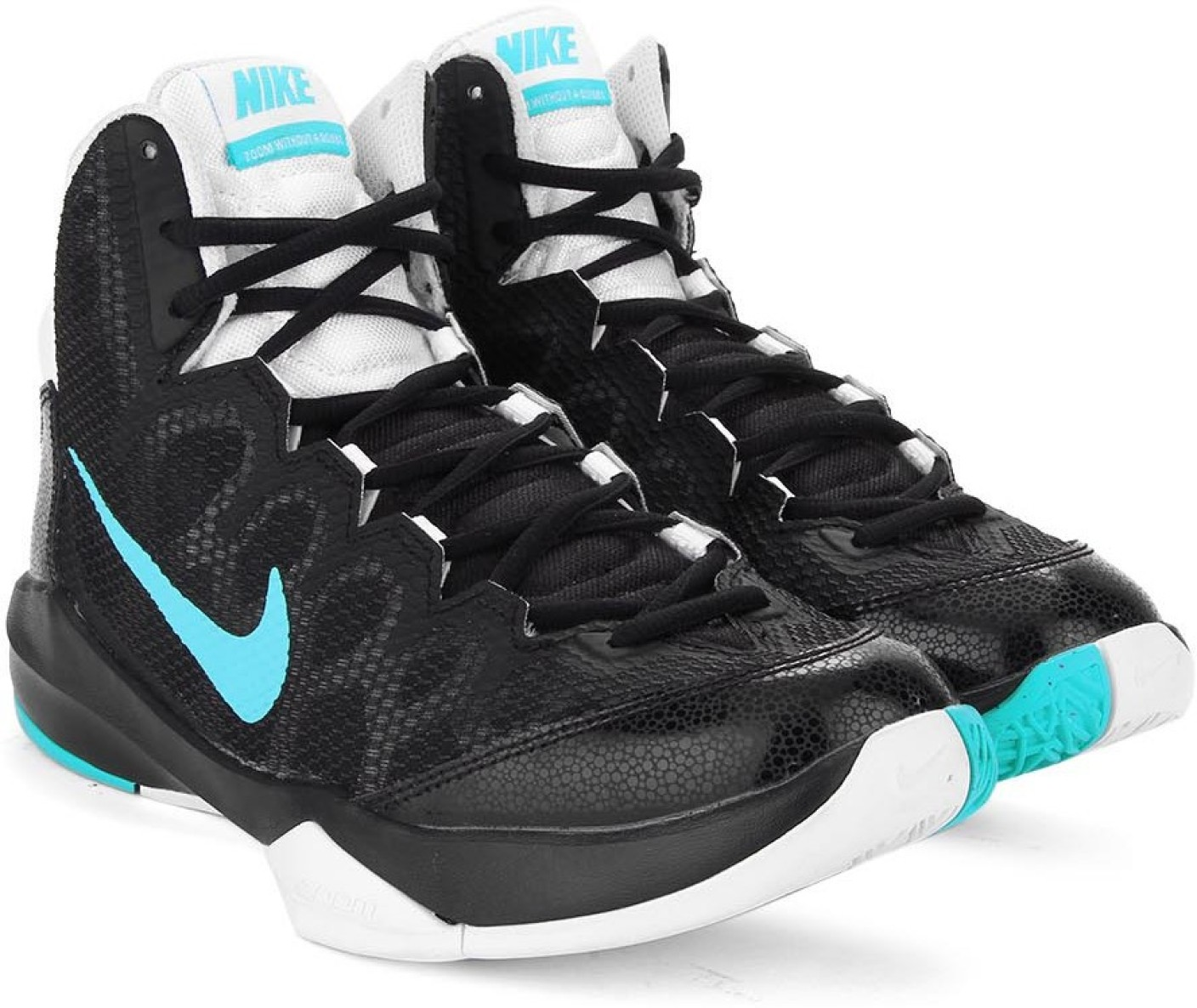 Buy Cheap Nike Zoom Without A Doubt - Black / Beta Blue / White / Pure Platinum Shop No.51061101