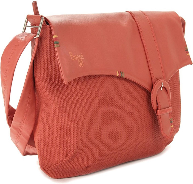 Baggit Women Orange Sling Bag Wishlist