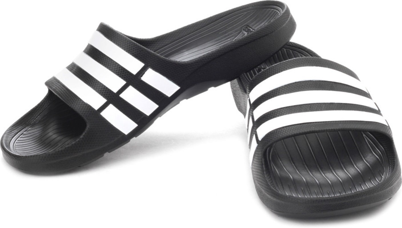 Adidas Duramo Slide Slippers Buy Black1 Wht Black1 Color