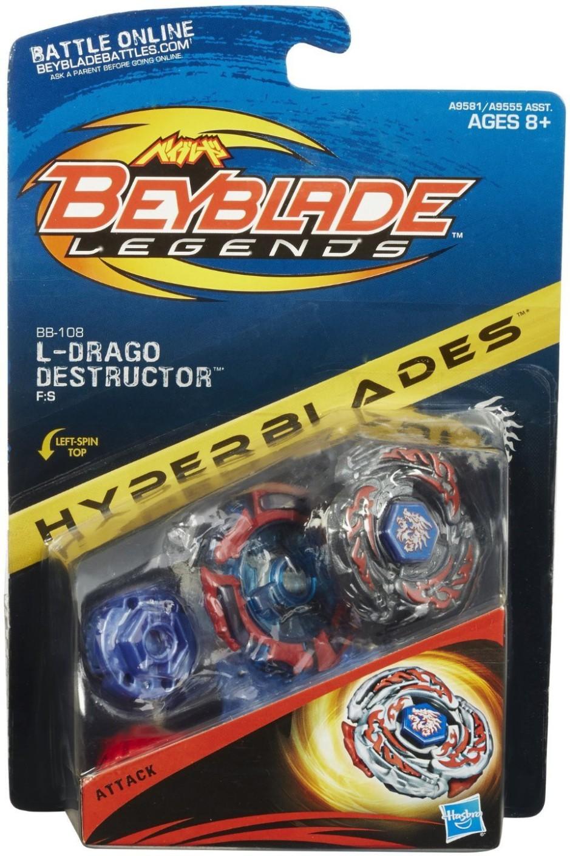 Hasbro Beyblade Legends Beybattle Tops Bb 108 L Drago
