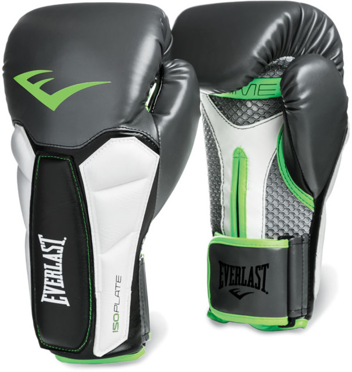Everlast Fitness Gloves Mens: Everlast Prime Training Boxing Gloves (XL, Grey, Green