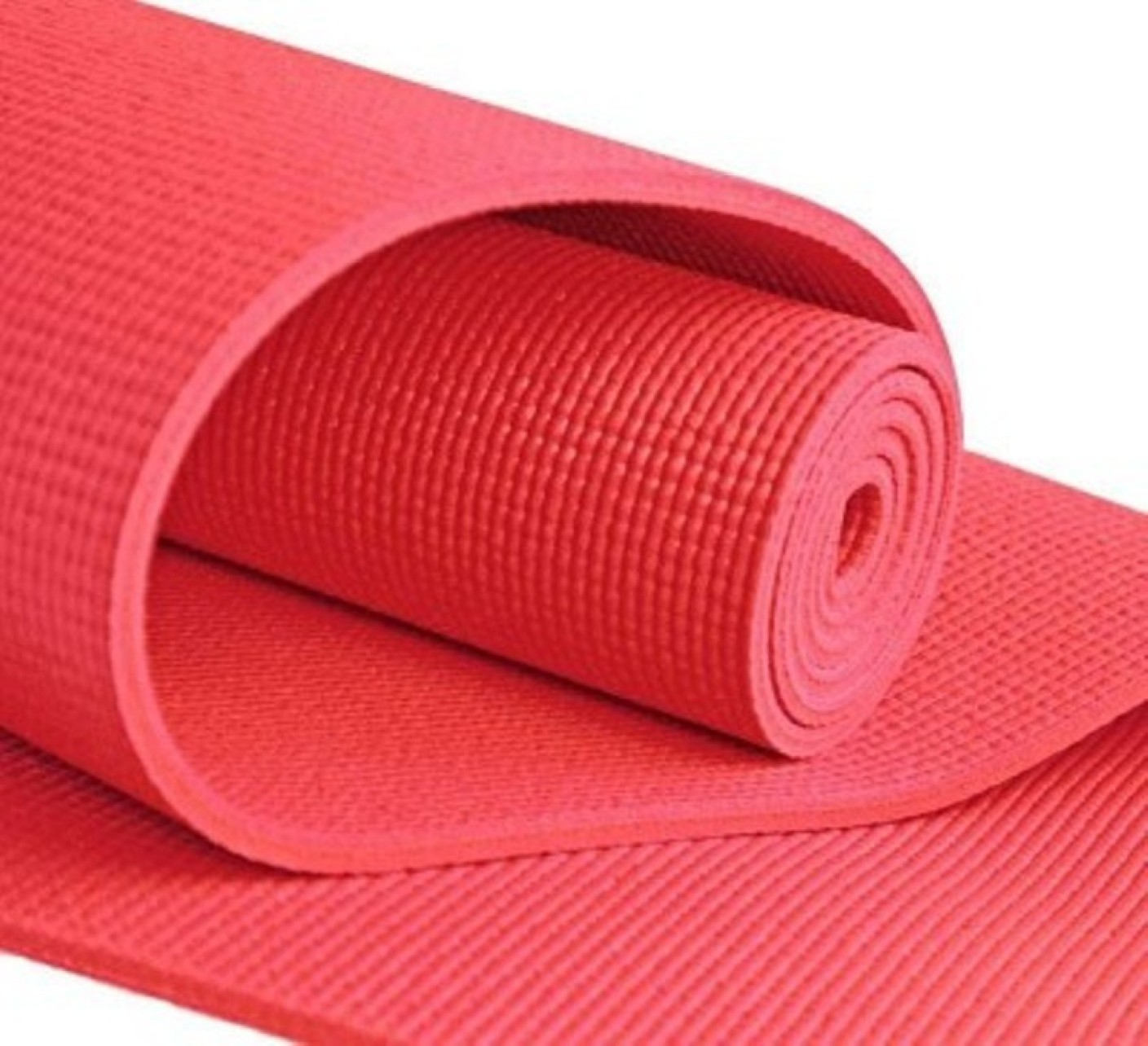 Quick Shel Exercise Mat Durable Quality Red 4 Mm Yoga Mat